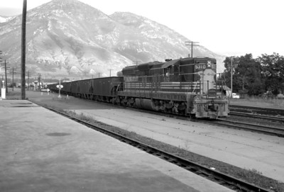 D&RGW passing through Provo. June 17, 1965. (Marvin Black Photo)