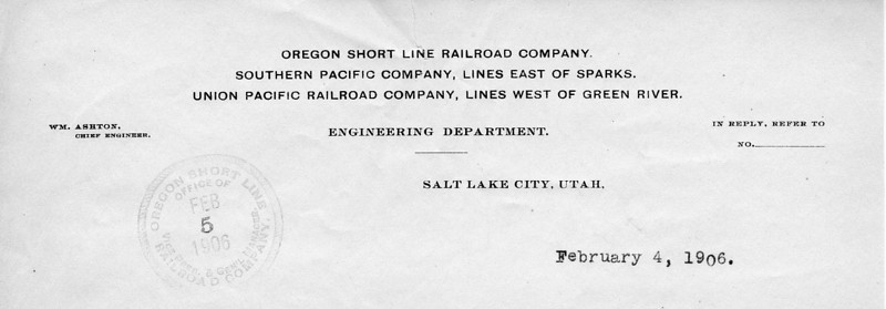 No print date; letter date February 1906.