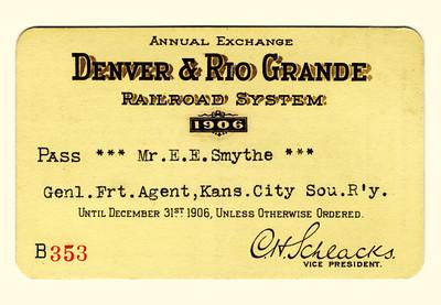 D&RG Railroad System 1906