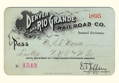 D&RG Railroad 1895
