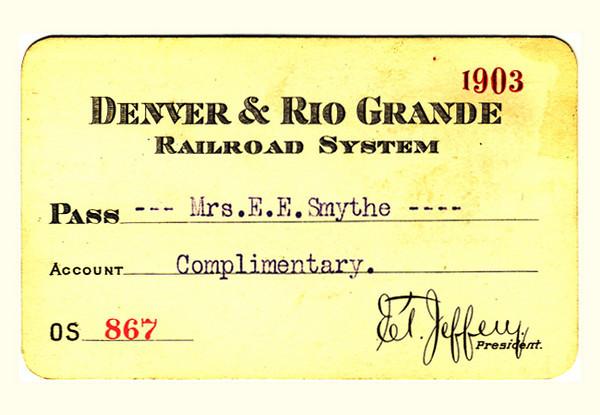 D&RG Railroad System 1903