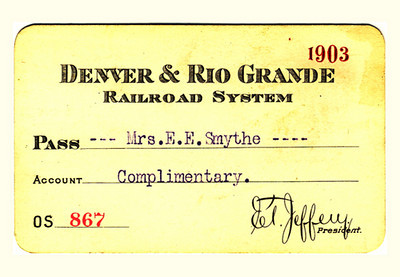 D&RG Railroad System 1903