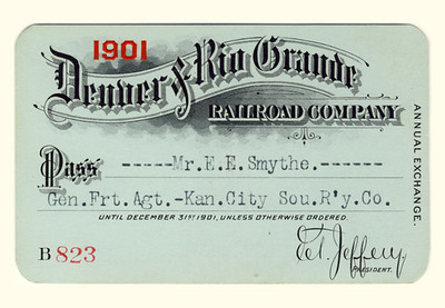 D&RG Railroad 1901