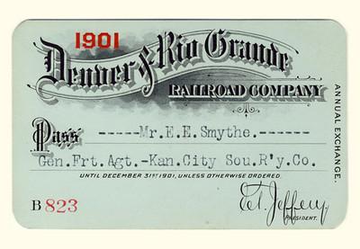 D&RG Railroad 1901