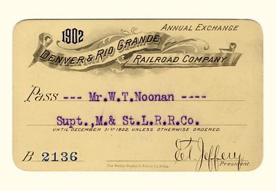 D&RG Railroad 1902