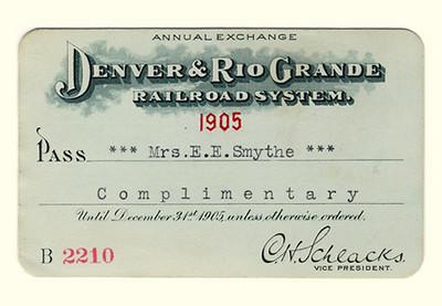 D&RG Railroad System 1905