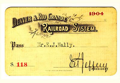 D&RG Railroad System 1904