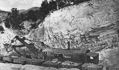 Utah-Construction-Co_Marion-steam-shovel-D&RG-Soldier-Summit-Detour_ca-1913_photo-2