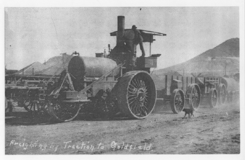 Freighting-By-Traction-Goldfield_ca1906_Nevada-Historical-Society