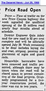 price-canyon-highway-opened_deseret-news_29-Jun-1966