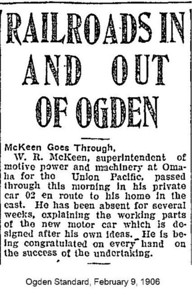 1906-02-09_McKeen-passes-through-Ogden_Ogden-Standard