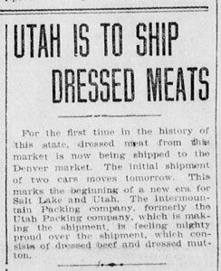 1908-05-20_Utah-Packing-Co-first-shipments_Deseret-Evening-News