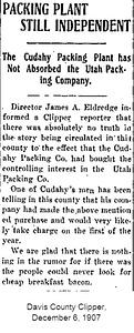 1907-12-06_Utah-Packing-Co_Davis-County-Clipper