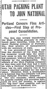1907-10-06_Utah-Packing-Co-sold_Salt-Lake-Herald-Republican