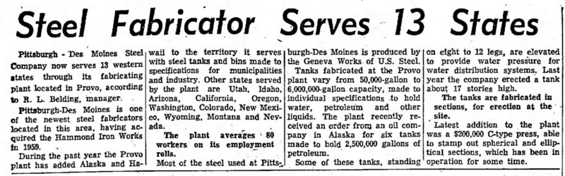 1962-02-25_PDM-Steel_Provo-Daily-Herald_article