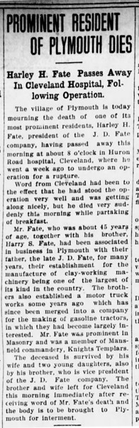 1916-05-27_Harley-Fate-died_Mansfield-Ohio-News-Journal