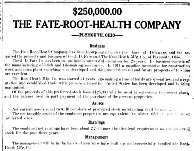 1919-06-19_Fate-Root-Heath-prospectus_Mansfield-Ohio-News-Journal