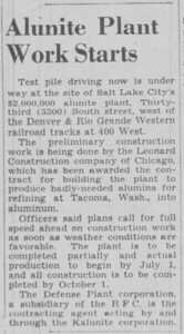 1942-02-27_Kalunite-work-starts_Salt-Lake-Tribune