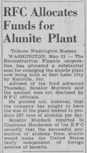 1942-05-22_Kalunite-expansion_Salt-Lake-Tribune