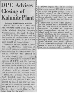 1945-12-20_Kalunite-closure_Salt-Lake-Tribune