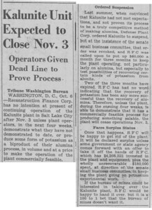 1945-10-07_Kalunite-closure_Salt-Lake-Tribune
