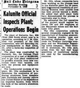 1943-11-06_Kalunite-starts_Salt-Lake-Telegram