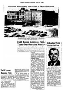1949-06-26_American-Packing-to-Swift_Ogden-Standard-Examiner_1949-06-26