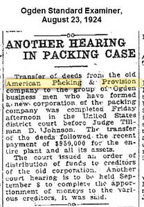1924-08-23_American-Packing_Ogden-Standard-Examiner