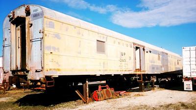 RBBX 60016, ex-UP 24431/5663. (Rhett Coates Photo)