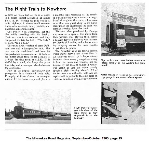 From The Milwaukee Road Magazine, September-October 1963