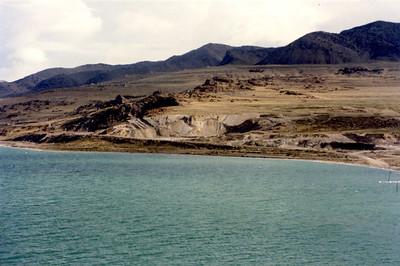 Quarry north of Saline