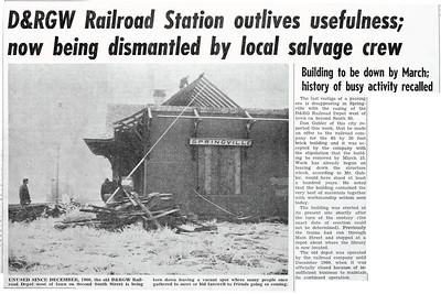1964-01-02_D&RGW-Springville-depot-demolished_Springville-Herald_edit