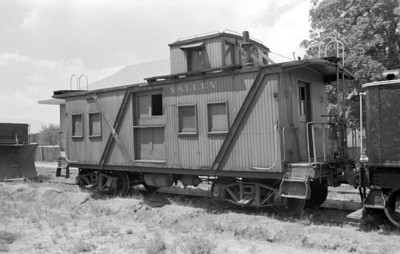 Tooele Valley Ry. caboose, 1982. (Don Strack Photo)