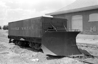 Tooele Valley Ry. snowplow, 1982. (Don Strack Photo)