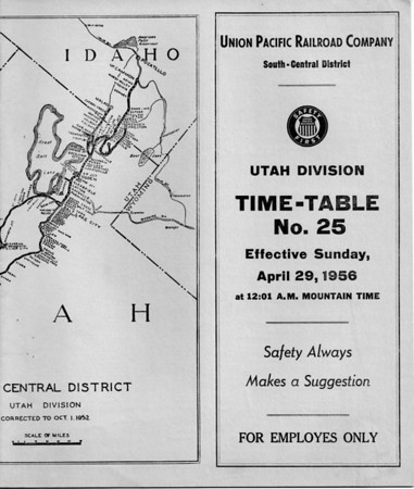 ETT No. 25 - April 29, 1956