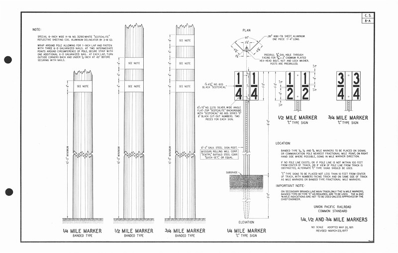 CS-8A_1977_Mile-Markers