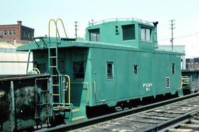 Pittsburgh, Chartiers & Youghiogheny Railway no. 97, ex UP 25124.