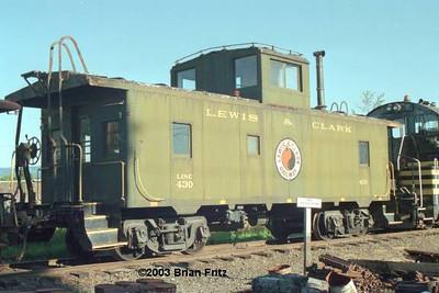 Lewis & Clark Railroad no. 430.