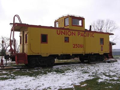 UP 25061 at Sabetha, Kansas. 2011.