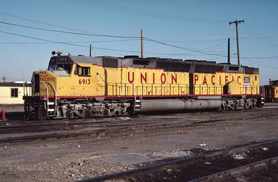 UP 6913, Salt Lake City, June 1984. (Don Strack Photo)