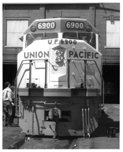 UP 6900, Front. (Union Pacific Historical Collection)