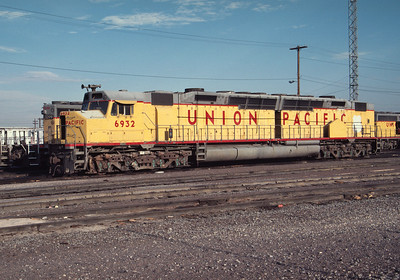 UP 6932, Salt Lake City, July 1984. (Don Strack Photo)