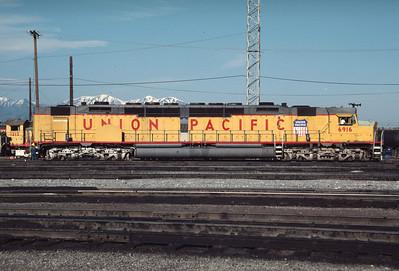 UP 6916, Salt Lake City, May 1984. (Don Strack Photo)