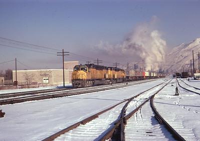 UP 6918, Salt Lake City, January 1974. (Don Strack Photo)