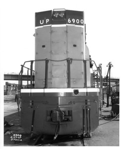 UP 6900 Rear. (Union Pacific Historical Collection)