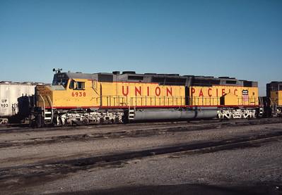 UP 6938, Salt Lake City, July 1984. (Don Strack Photo)