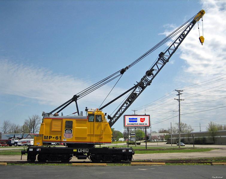UP-MP-61 Ohio DE 650 rebuild for Union _Pacific April 2007 - Craig Goodenough photo