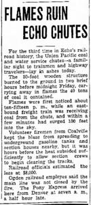 1941-01-11_UP-Echo-coal-chutes-fire_Ogden-Standard-Examiner