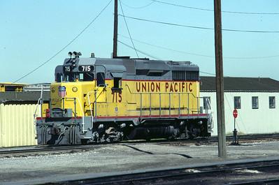 UP GP30 715. Salt Lake City, August 1983. (Don Strack Photo)