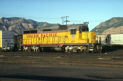 UP GP30 817. Ogden, Utah, September 1983. (Don Strack Photo)